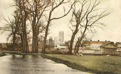 £3.22 • Buy Cathedral From The River, Canterbury - Posted 1905 - Charlton