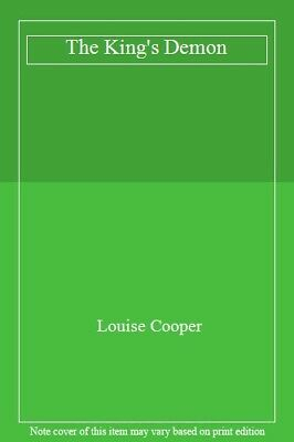 The King's Demon-Louise Cooper • 3.31£