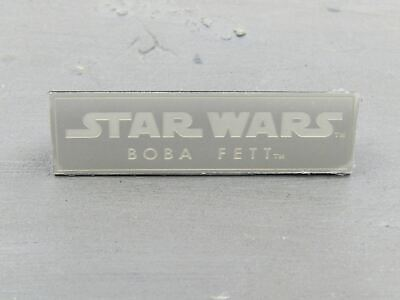 $ CDN6.50 • Buy 1/6 Scale Toy STAR WARS - Boba Fett - Name Plate For Figure Stand