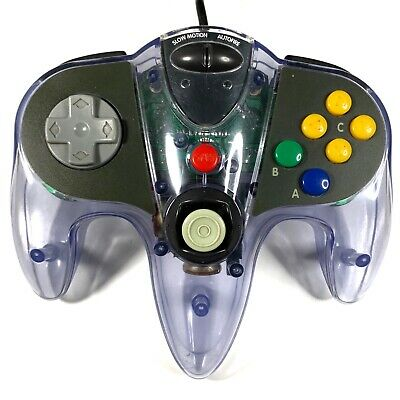 AU69.99 • Buy InterAct SharkPad Pro Controller For N64 - Tested & Working - 8/10 Joystick