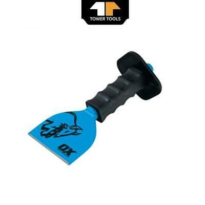 £9.49 • Buy Ox Tools T090503 Trade Brick Bolster With Guard 3in / 75mm