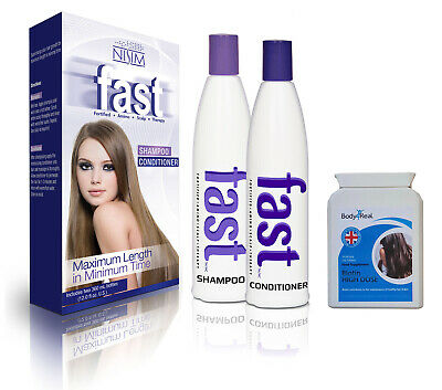 £44.99 • Buy FAST Shampoo And Conditioner Hair Growth Treatment + Biotin Tablets Supplements