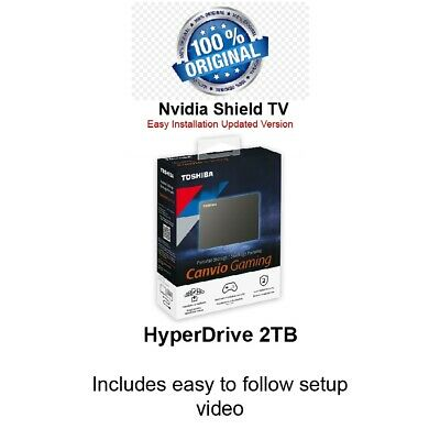 $ CDN116.77 • Buy NVIDIA Shield TV 2TB Hyperdrive Home Arcade
