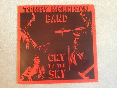 Tommy Morrison Band - Cry To The Sky OTIS RECORDS 1985 LP EX/EX • 9.99£