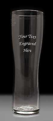 Personalised 1 Pint Beer Lager Glass, Engraved Gift • 9.99£