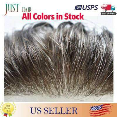 £121.85 • Buy Mens Hair Replacement Ultra Thin Skin Toupee All Colors Hairpieces PU System Wig