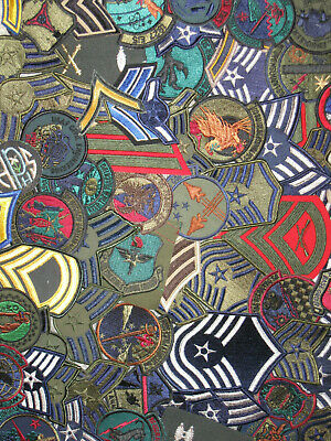 $7.95 • Buy LOT OF (15) Assorted U.S. Military Army Air Force USAF Patches Insignia New NOS