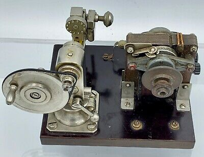 $ CDN633.43 • Buy Antique Vintage Watchmakers Lathe Unusual Miniature Pivoting Polishing Tool Rare