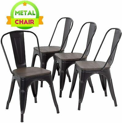 $129.99 • Buy  Outdoor Chairs Patio Chairs Furniture Kitchen Metal Chairs  Tolix Side  Chair