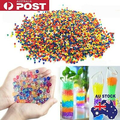 AU7.98 • Buy 50000pcs Crystal Water Balls Jelly Gel Beads For Vases Orbeez MultiColor AU