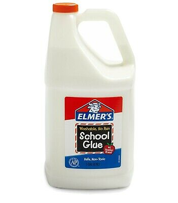 AU49 • Buy Elmers Liquid School Glue Bottle White - 1 Gallon/3.78L | Great For Making Slime