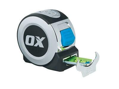 OX Tools Pro Metric/Imperial 5M Tape Measure - 16Ft 5m Class II Measuring Blade  • 12.50£