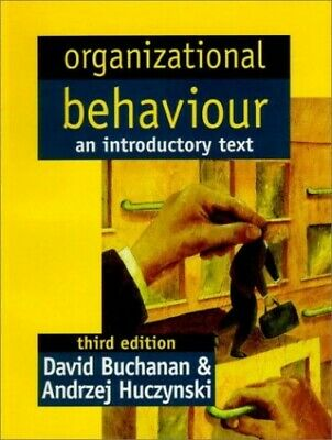 £3.29 • Buy Organizational Behaviour : An Introductory Text By Zynski Paperback Book The