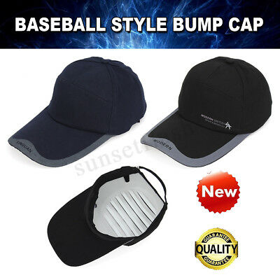 Baseball Style Bump Cap Vented Safety Hard Hat Scalp Head Protection   • 11.53£