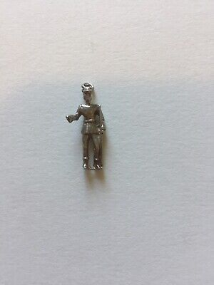 Soldier Sterling Silver Charm 925 • 15£