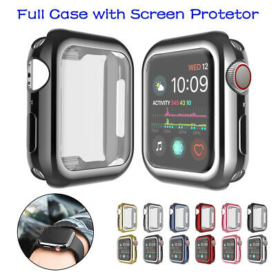 $ CDN4.29 • Buy Screen Protector Cover Case For IWatch Apple Watch Series 5 4 3 2 1 3840/42/44mm