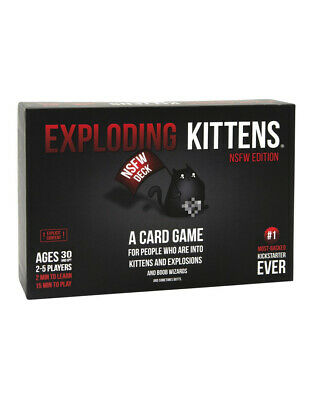 AU39.95 • Buy Board Games Exploding Kittens NSFW Edition
