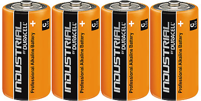 Duracell Industrial Procell C Batteries Alkaline 1.5V LR14 MN1400 X2,4,6,8 Or 10 • 5.99£