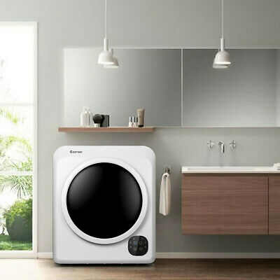 View Details 1700W Electric Compact Tumble Laundry Dryer Steel Tub 13.2 Lbs/3.22 Cu.Ft Home • 512.99$