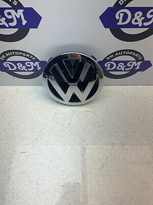 VW TOUAREG FRONT 150mm GRILLE EMBLEM CHROME BADGE 7L6853601A • 10.60£