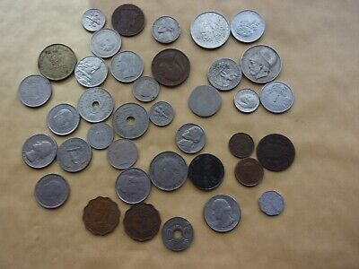 Assortment Of Foreign Coins • 7.49£