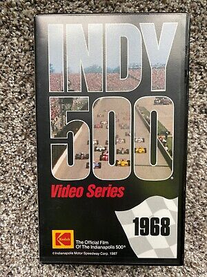 £21.20 • Buy 1968 Indianapolis 500 VHS Video Series Preview For The Future Kodak TESTED WORKS