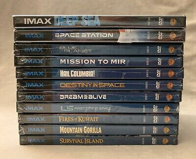 $ CDN18.50 • Buy Lot Of 11 IMAX DVDs Educational Science Space Animals New Sealed