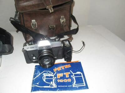 $ CDN21.04 • Buy Vintage Camera -  Petri  Ft1000 W/flash & Manual - Exc- In Case - G16