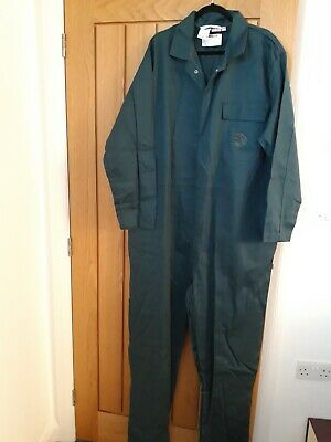 Large Size Proban Flame Retardant Overalls Boilersuit Size 55   140R Sruce Green • 14.50£