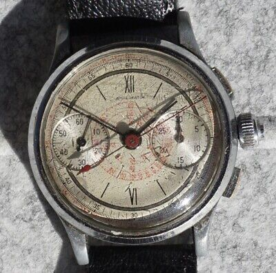 $ CDN380.71 • Buy Aydil Watch Chronograph - Swiss Vintage / Montre Ancienne /17 Rubis