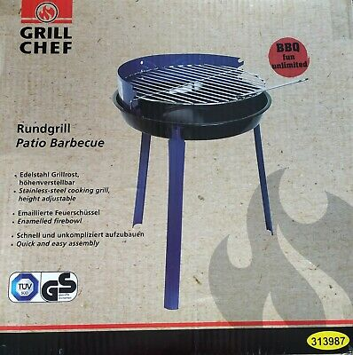 Landmann Roundgrill Patio Barbecue 49cm High • 30£