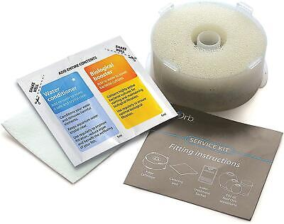 BiOrb Service Kit Spare Filter Cartridges With Chemical Filter Media  Fast Clean • 9.07£