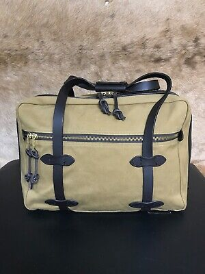 View Details Filson Rugged Twill Pullman Duffle Travel Bag Suitcase - NR - FLAWLESS! • 81.00$