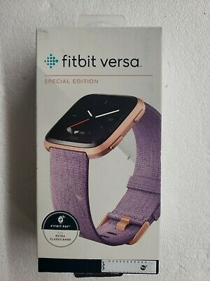 $ CDN237.89 • Buy Fitbit Versa Special Edition Smartwatch, Lavender Woven, S + L Bands