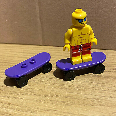LEGO - SKATEBOARD - PURPLE - ( 2 OFF ) - Skate - Park - City - Friends  • 2.99£