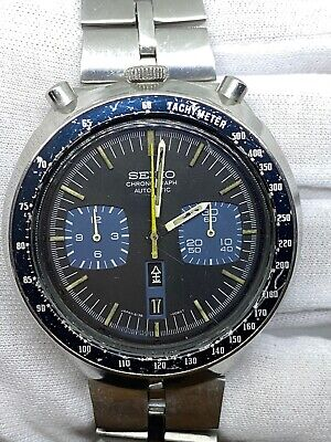 $ CDN287.34 • Buy Vintage Seiko Bull Head Chronograph 6138-0040  Auto Serviced Not Reserved