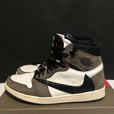 $800 • Buy Nike Air Jordan 1 Travis Scott High Cactus Jacks CD4487 100 Men's Size 9