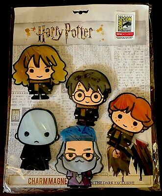 $24.95 • Buy SDCC 2018 Monogram Harry Potter 5 Piece Magnet Set Comic Con Exclusive Brand New