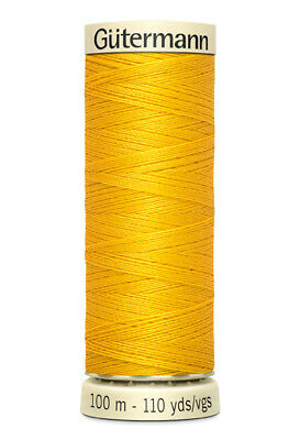 Gutermann Sew All 100% Polyester Sewing Thread 100M Spools For Machine / Hand • 2.39£
