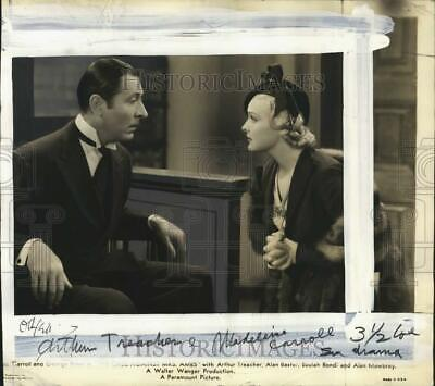 $ CDN35.14 • Buy 1956 Press Photo Arthur Treacher With Madeline Carroll In Movie Scene