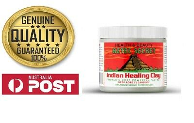 AU33 • Buy Aztec Secret Indian Healing Clay Facial Foot Deep Pore Cleansing Mask