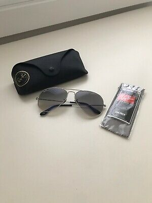 AU54 • Buy Authentic Rayban Polarised Aviator Sunglasses