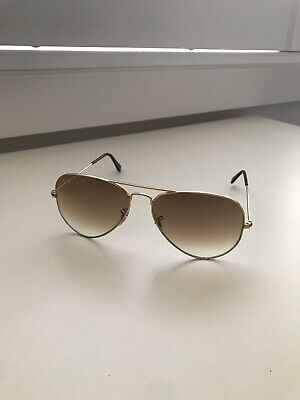 AU38 • Buy Authentic Rayban Aviator Sunglasses With Case