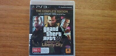 AU12 • Buy Grand Theft Auto IV (Complete Edition) - Sony Playstation 3 - Free Postage