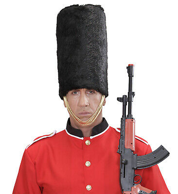 PLUSH ROYAL GUARD HAT Accessory For Fairytale Regal Royal Ruler Fancy Dress • 8£