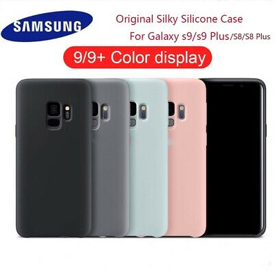 $ CDN5 • Buy For Samsung Galaxy S8 S9 Plus Liquid Silicone Silky Soft-Touch Protective Case