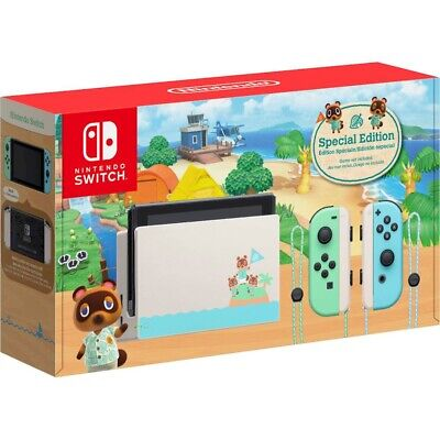 $ CDN850 • Buy Nintendo Switch: Animal Crossing New Horizons Special Edition Console - Preorder
