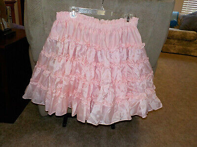 $19.99 • Buy Royal Petticoats Square Dance Pink 20/20 5 Tiers Single Layer