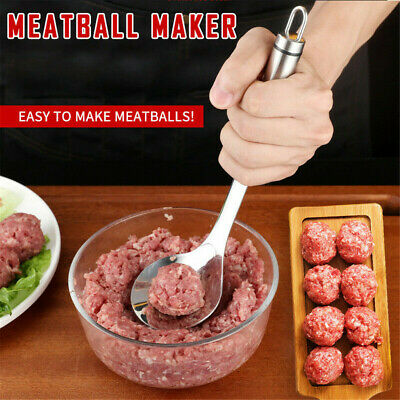 AU11.98 • Buy Meatball Maker Spoon Non Stick Thick Stainless Steel Kitchen Utensil Meat Ball