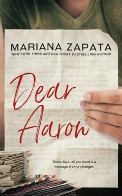 AU34.51 • Buy Zapata Mariana-Dear Aaron BOOK NEW
